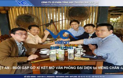Việt An chính thức mở văn phòng bán máy làm đá viên tại Viêng Chăn- Lào